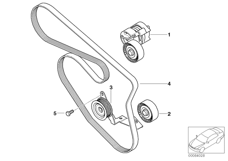 BMW Engine Deflection Guide Pulley