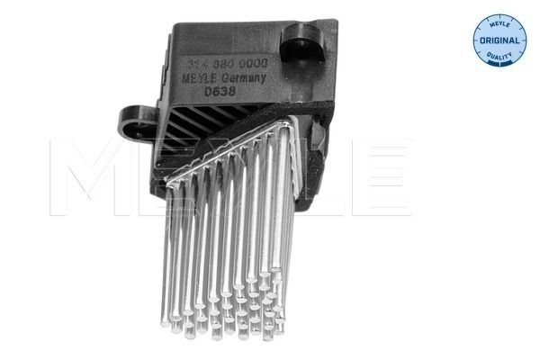 BMW Blower Motor Resistor Final Stage Unit