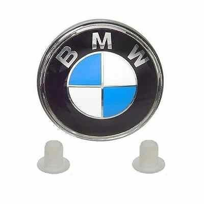 Genuine BMW Boot Trunk Badge Emblem + Free Grommets