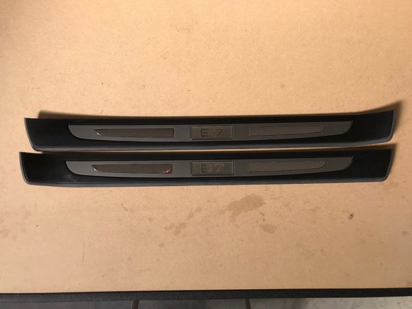 Genuine Alpina BMW B7 Door Kick Panel Set Front and Rear