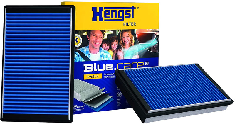 Genuine Hengst BMW Cabin Interior Air Filter ­with Antibacterial Effect