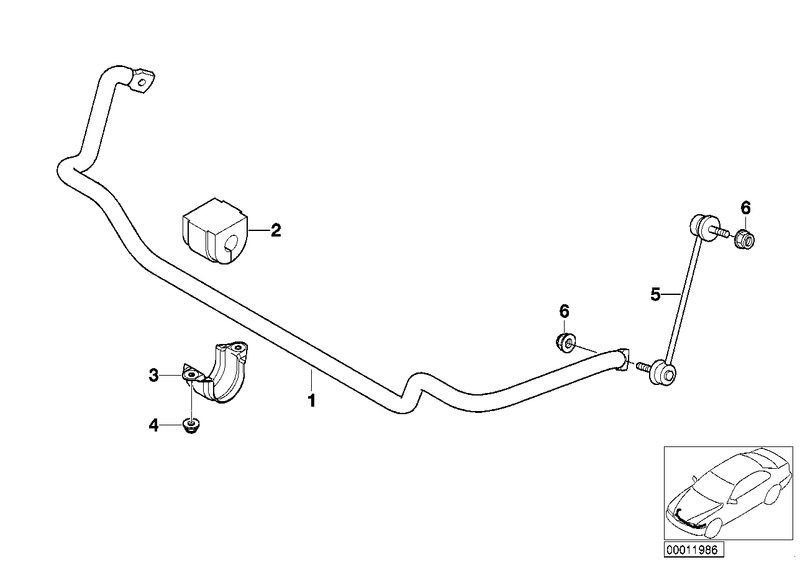 BMW Front Sway Bar End Link