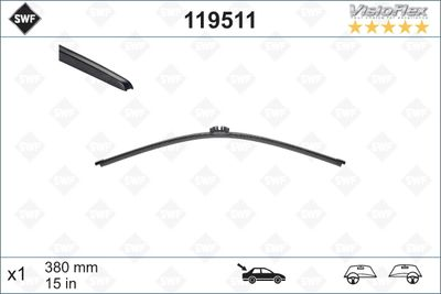 BMW Wiper Blade Rear