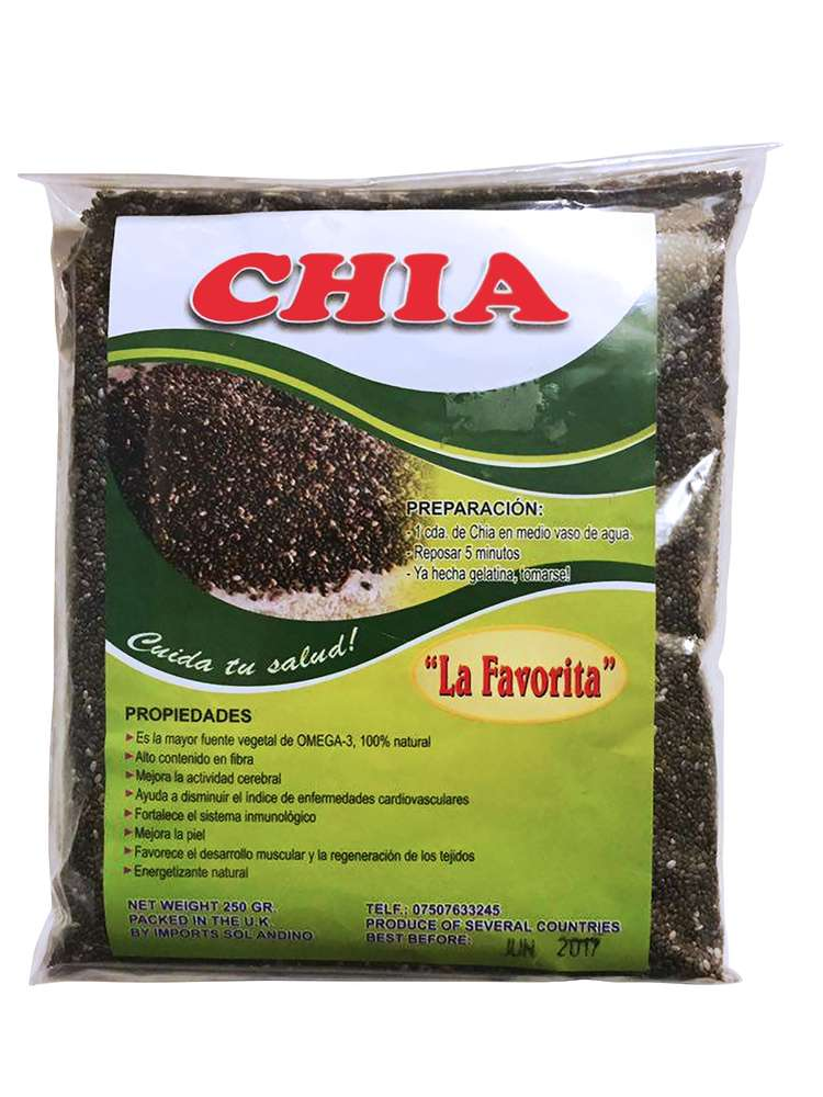 La Favorita Chia Seeds 250g