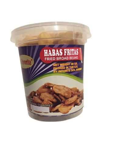 La Favorita Fried Broad Beans - Habas Fritas 80g x 3