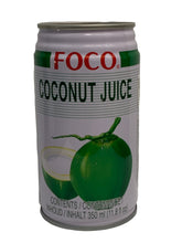 Load image into Gallery viewer, Foco Coconut Juice 350ml