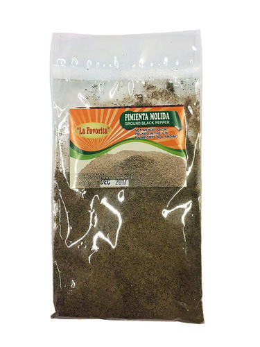 La Favorita Ground Black Peppercorn 40g