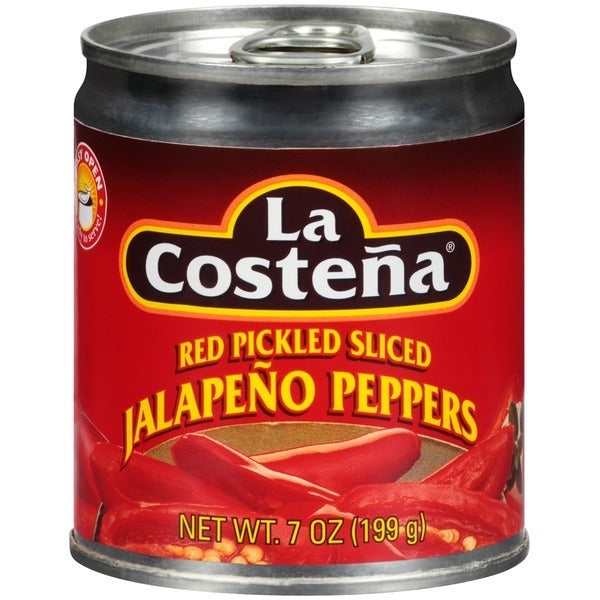 La Costena Red Pickled Sliced Jalepeno Peppers