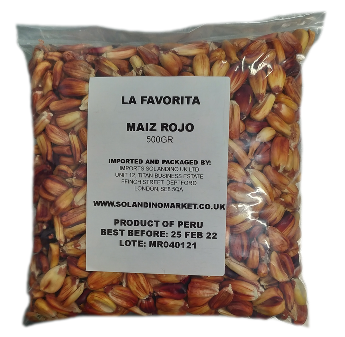 La Favorita Red Maize 500g