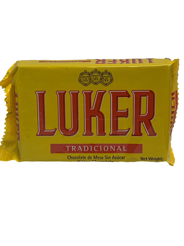Luker Traditional Hot Chocolate Bar 250g