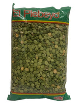 Load image into Gallery viewer, El Plebeyo Green Split Peas 500g