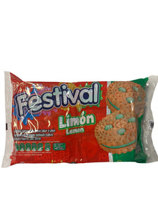 Festival Lemon Biscuits 12 Packs