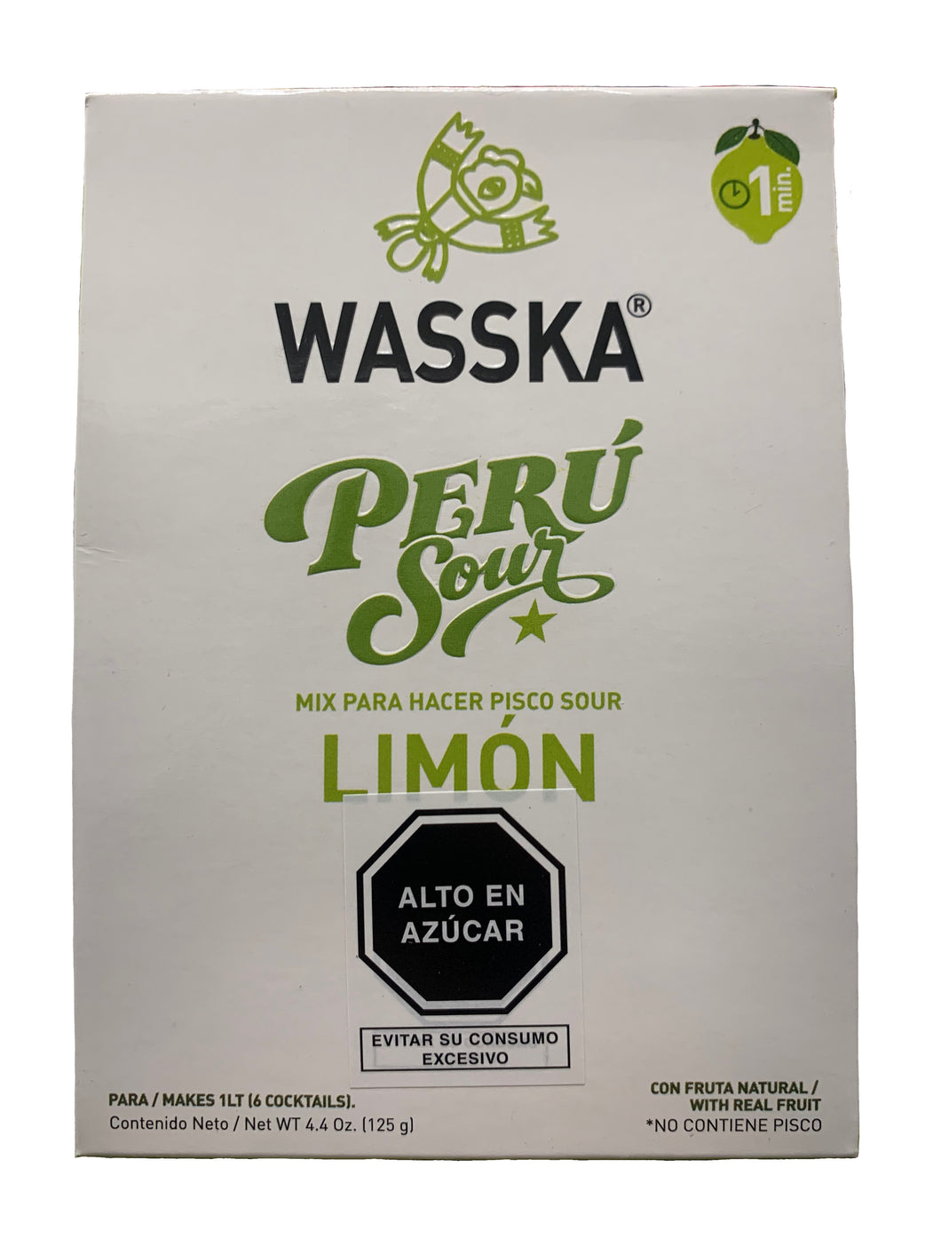 Wasska Lime Pisco Sour Mix 125g