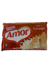 Load image into Gallery viewer, Nestle Amor Orange Wafers 100g