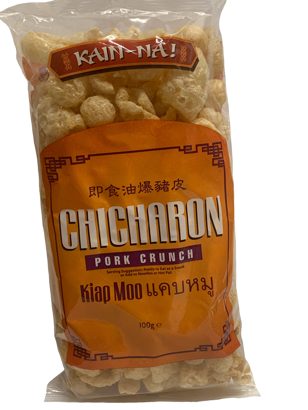 Kain Na Pork Crunch - Chicharrones 100g