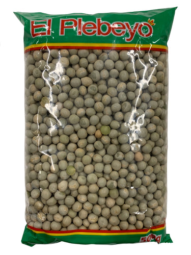 El Plebeyo Whole Green Peas 500g