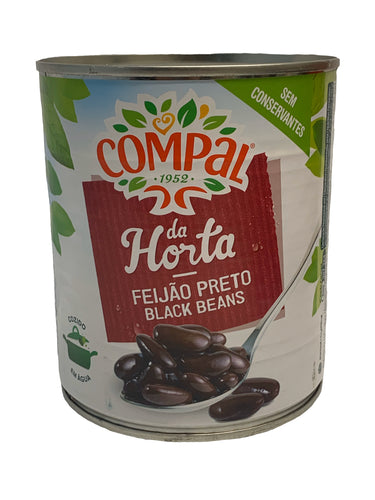 Compal Black Beans in Salt Water 825g