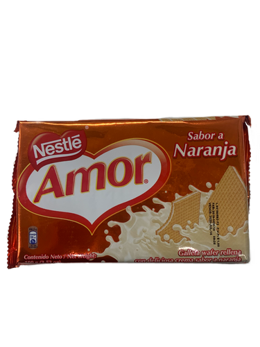 Nestle Amor Orange Wafers 100g
