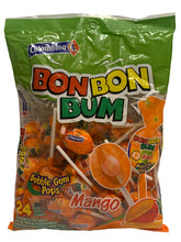 Load image into Gallery viewer, Bon Bon Bum Mango Lollies Pack of 24
