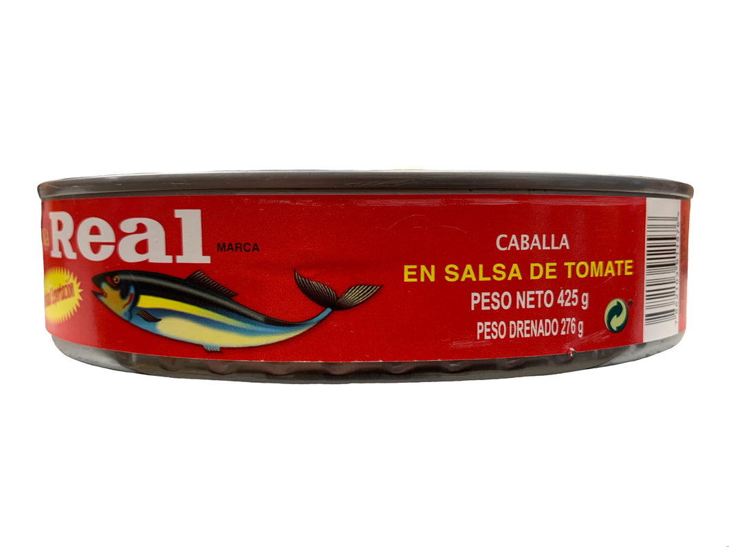 Real Mackerel Fish in Tomato Sauce 425g