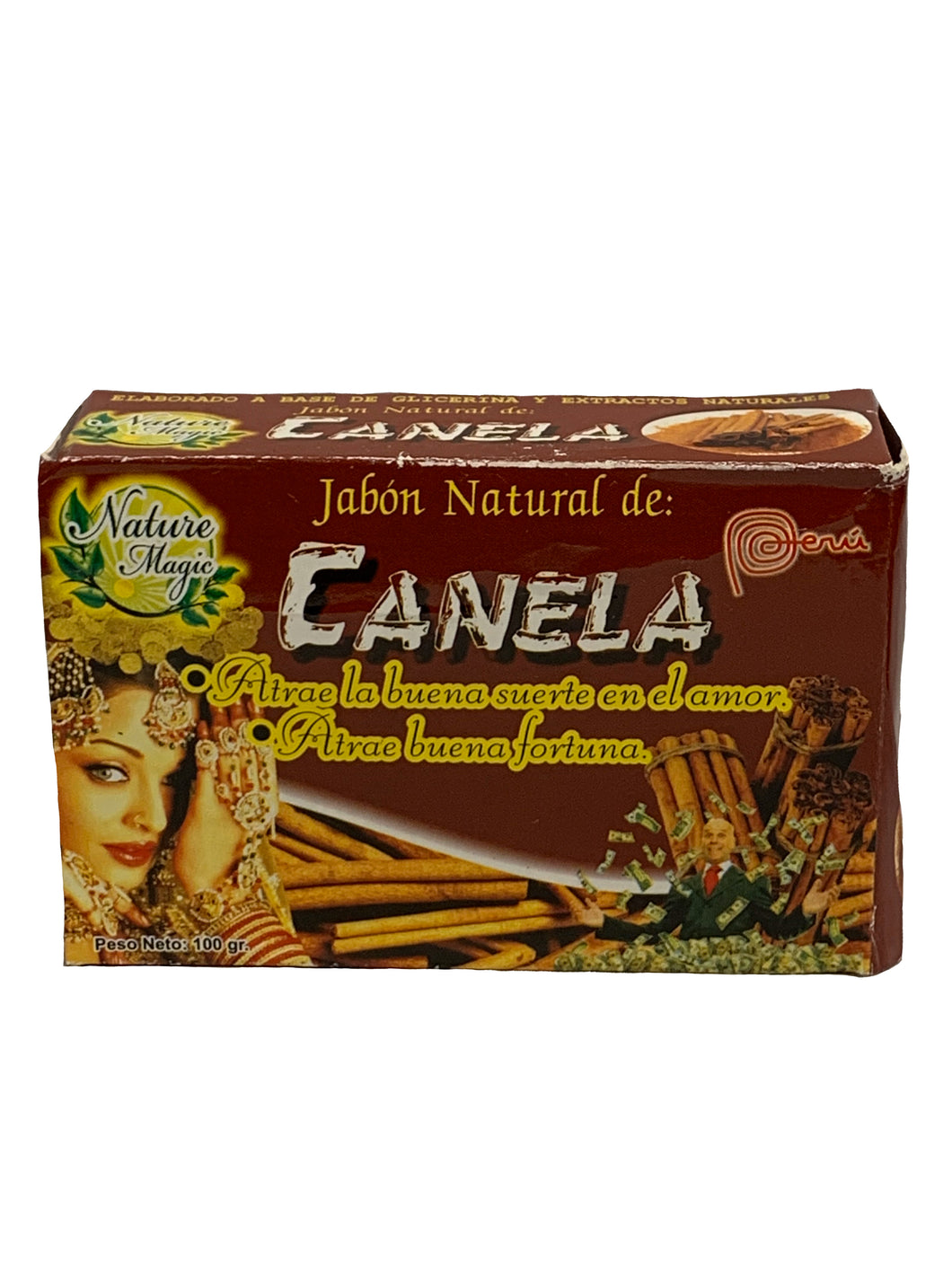 Cinnamon Scented Soap 100g