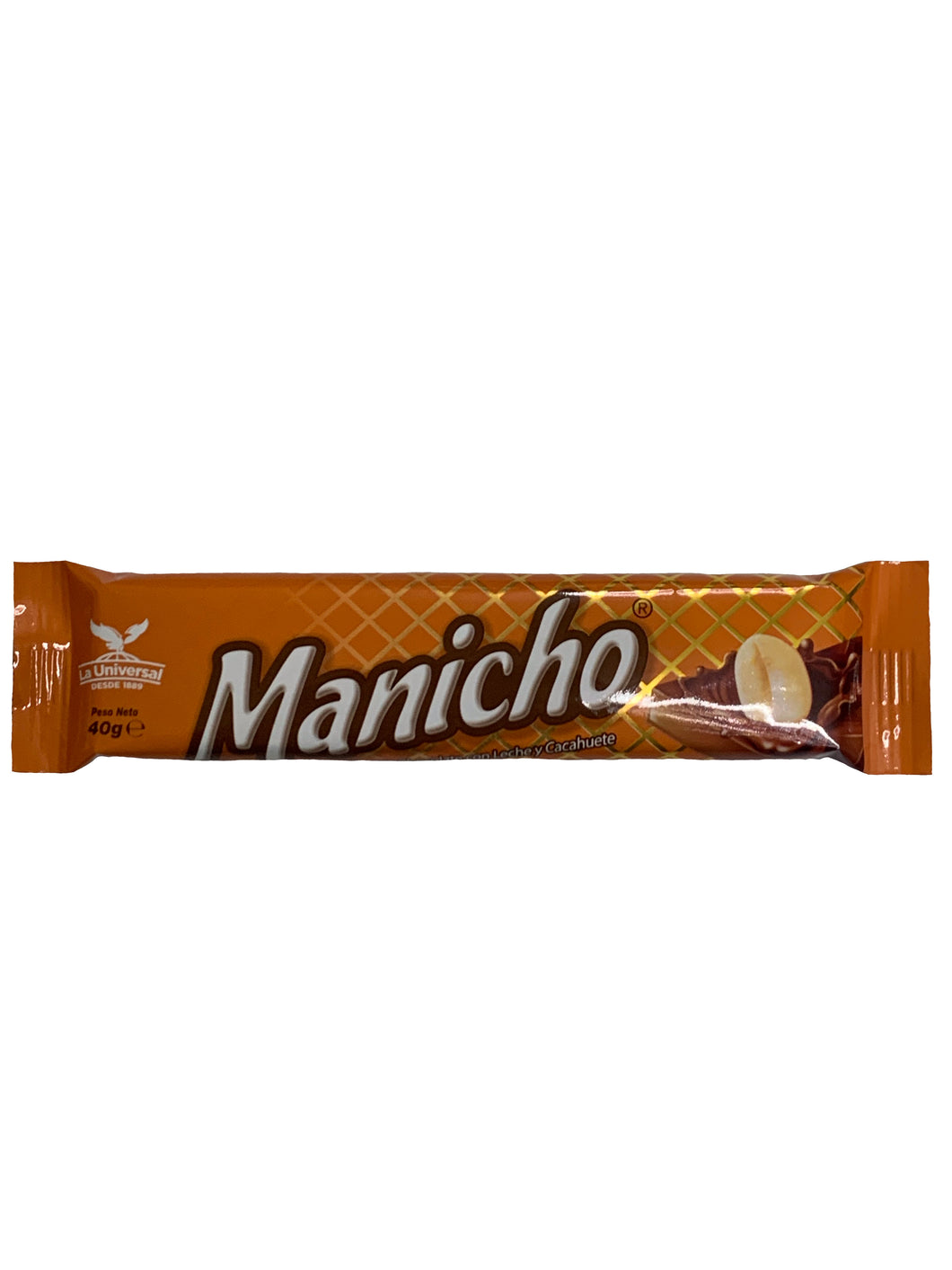 Manicho Chocolate Milk Bar with Peanuts