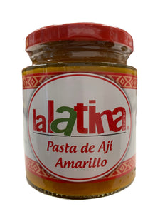 La Latina Yellow Chilli Paste - Pasta de Aji Amarillo 225g
