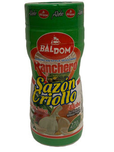 Baldom Ranchero Criollo Without Pepper Seasoning Mix 270g