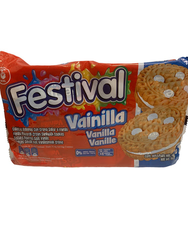 Festival Vanilla Biscuits 12 Packs