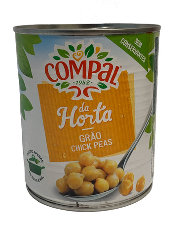 Compal Chick Peas in Salt Water 825g
