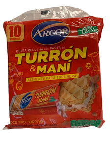 Arcor Turron & Mani 10 Pack