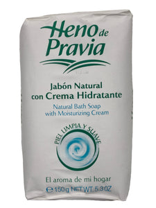 Heno de Pravia Bath Soap with Moisturing Cream
