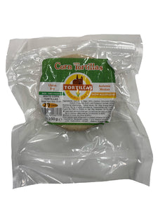 Gluten Free Corn Tortillas 10cm 20 pack