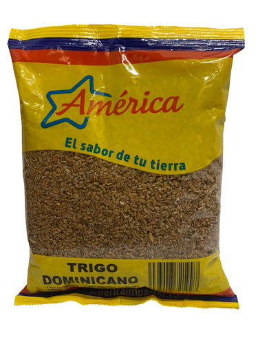 America Dominican Roasted Hominy Wheat - Trigo Dominicano 500g
