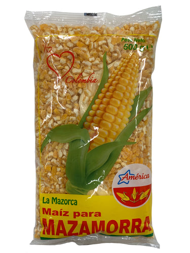 America Yellow Corn Maize - Maiz Amarillo Para Mazamorra 500g
