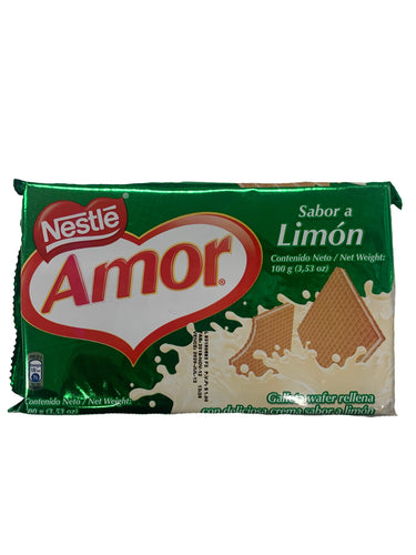Nestle Amor Lemon Wafers 100g