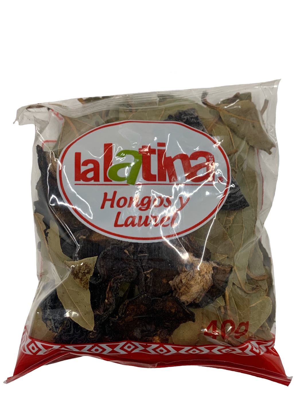 La Latina Mushrooms & Bay Leaves - Hongos y Laurel 40g