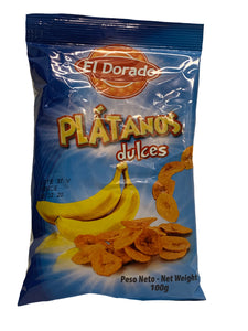 El Dorado Plantain Chips Sweet 100g