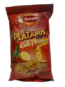El Dorado Plantain Chips Chilli & Lime 100g