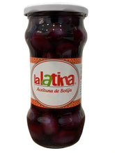 Load image into Gallery viewer, La Latina Black Olives - Aceitunas De Botija 560g
