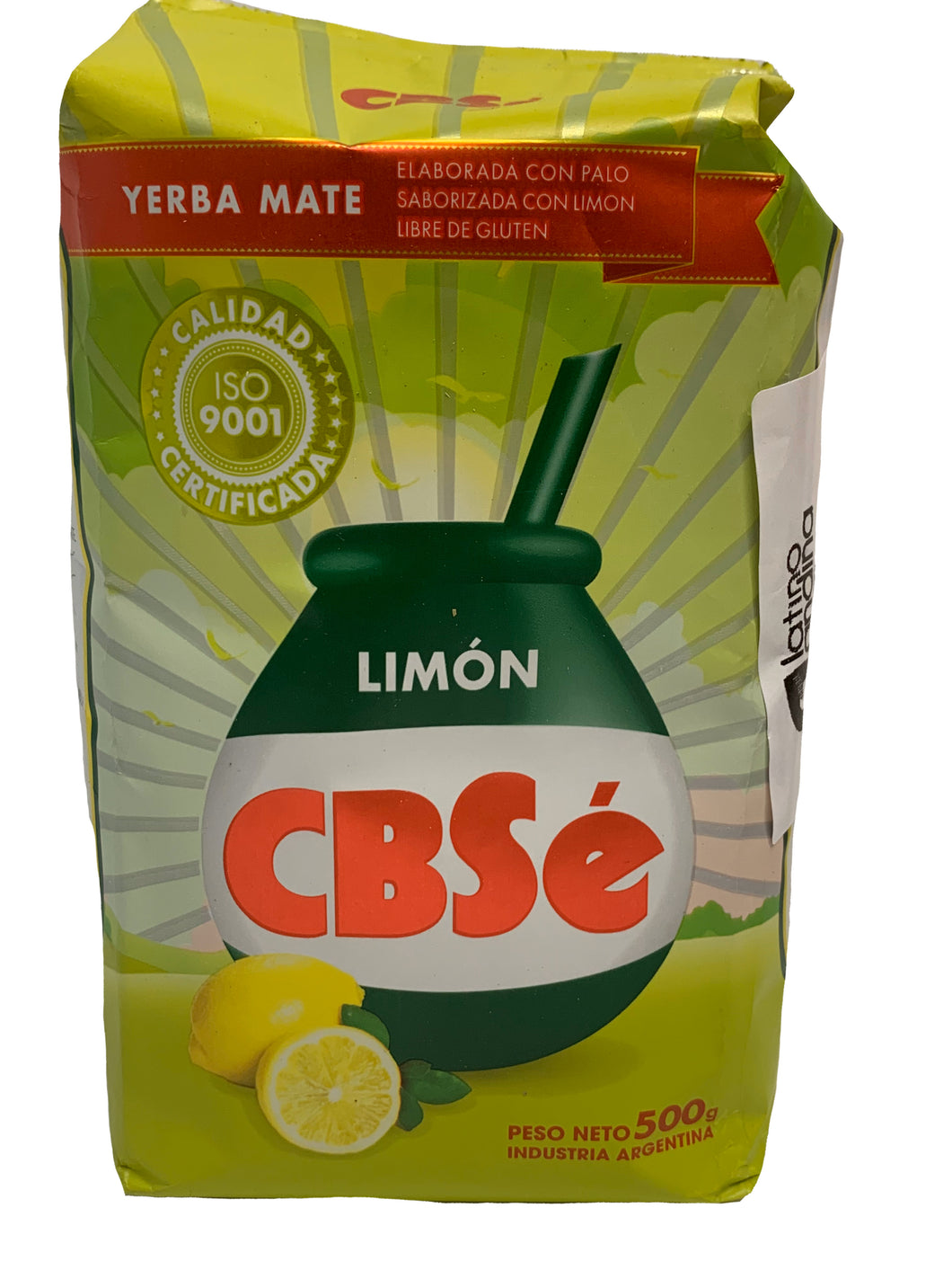 CBSE Lemon Yerba Mate 500g