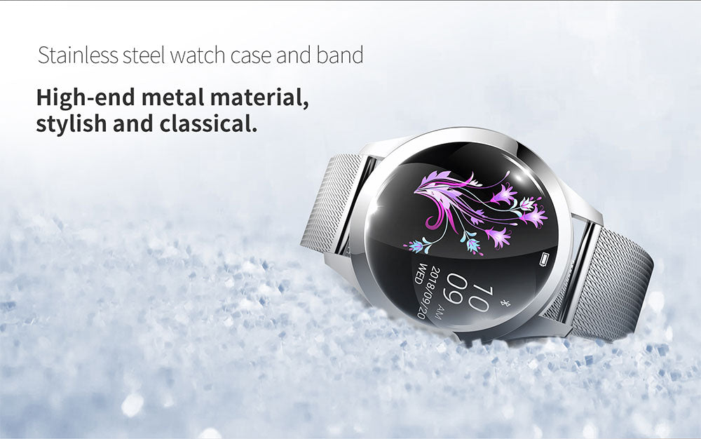 ChronoFit™ Steel CC Smartwatch
