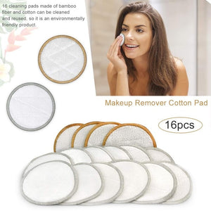 Reusable Bamboo Organic Cotton Pads