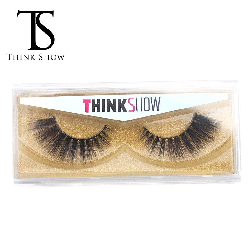 Thinkshow Handmade 3D Mink Eyelashes