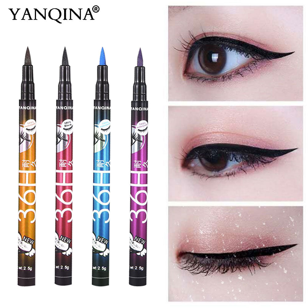 36H Black Waterproof Liquid Eyeliner