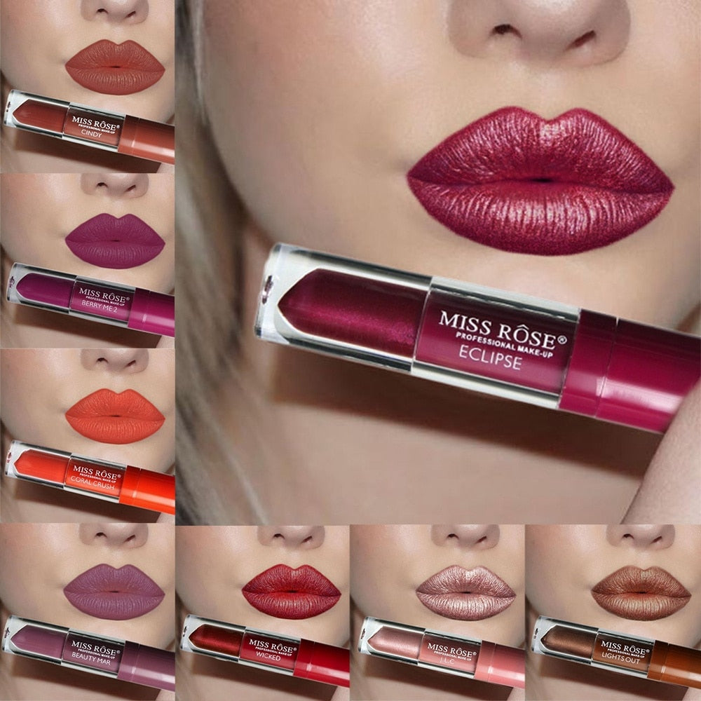 24 Color Liquid Lipstick by Miss Rose