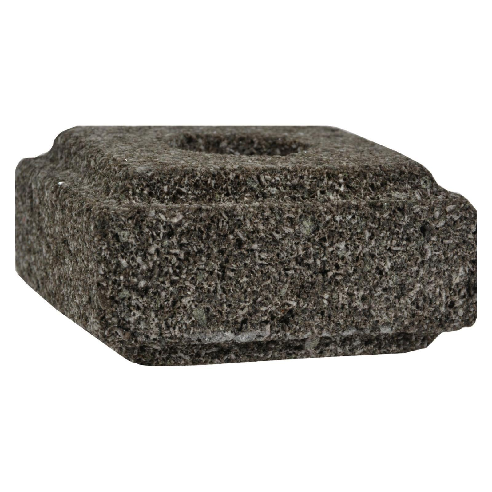 Aloha Bay Lava Stone Taper Candle Holder
