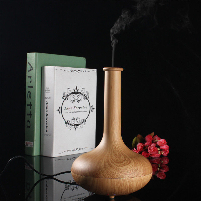 Vase Shape Aromatherapy Essential Oil Aroma Diffuser Humidifier Air Purifier Elegant
