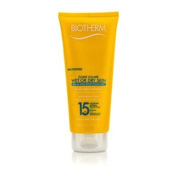 Fluide Solaire Wet Or Dry Skin Melting Sun Fluid SPF 15 For Face & Body - Water Resistant  200ml/6.76oz