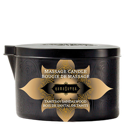 Massage Candle Vanilla Sandalwood